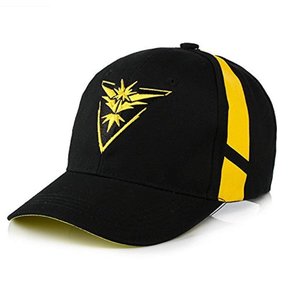 076f6b0134b8ae Get Quotations · Embroidered Pokemon Go Team Mystic, Valor, Instinct  Snapback Baseball Hat Cap