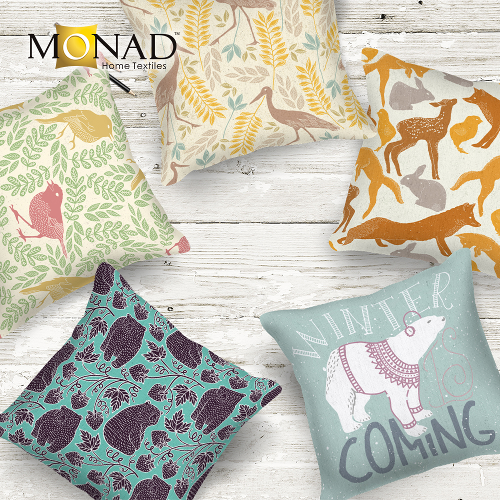 Monad good service watercolor new design decorative pillow cover cushion