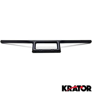 Krator Motorcycle Handlebar 7//8 Black Bars Euro Style For Yamaha XT 125 200 225 250 350 500 600 750