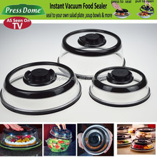 Wholesale PressDome Food Sealer Cover / Plate topper / Vacuum Seal Lids