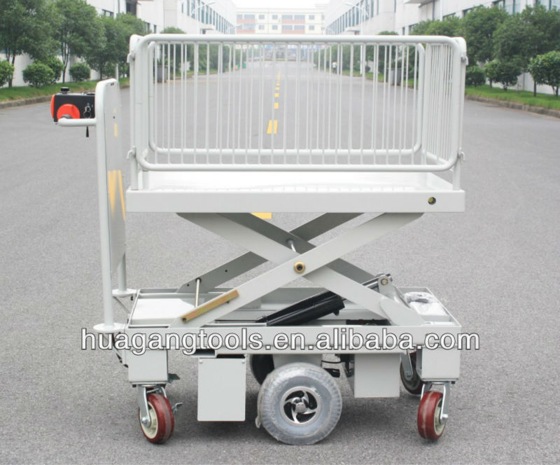 Electric Motorcycle Scissor Lift Table With One Cylinder & Wire Fence - Buy  Electric Motorcycle Scissor Lift Table,Electric Motorcycle Lift