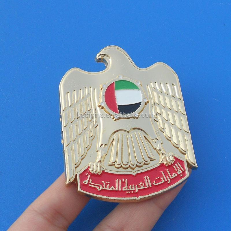 Uae Falcon Fridge Magnet Uae Metal Sticker 3d Logo Buy