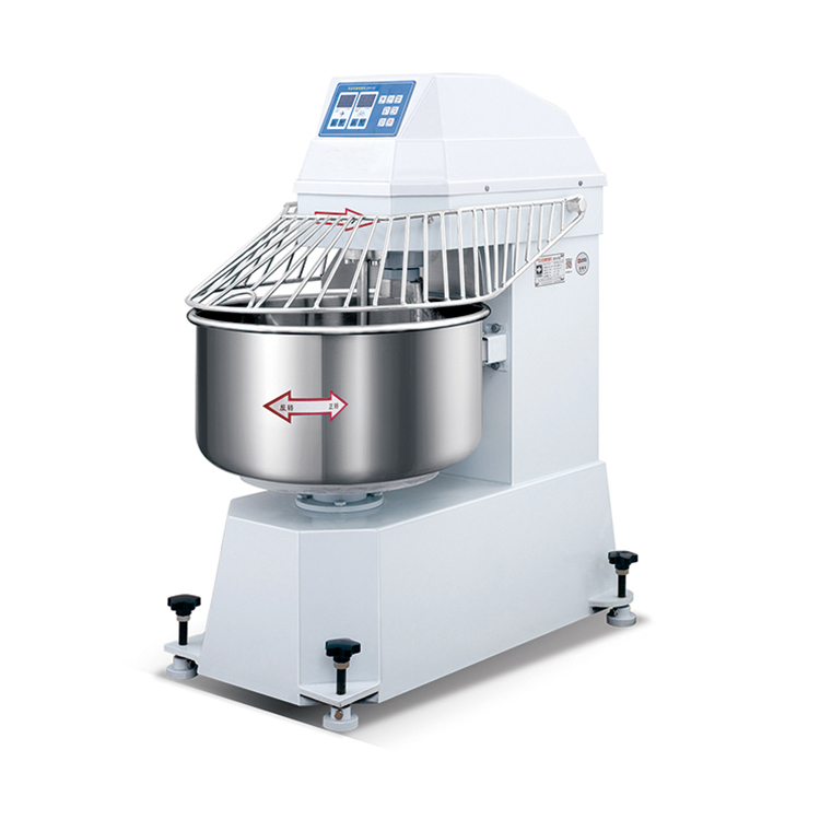 Industrial stainless steel food mixer commercial variable frequency conversion double and speed dough mixer