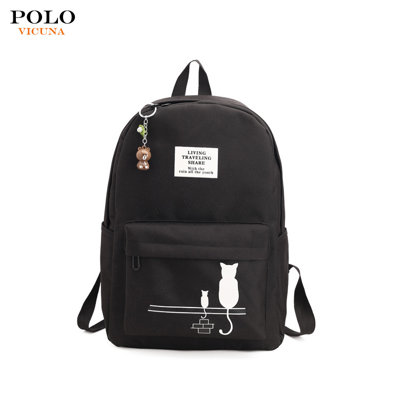 ) 저 (Low) MOQ 2018 Wholesale 새 패션 Girl 내구성 Backpack 레저 학생 2D Cartoon Bag Oxford School Bag