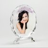 customised high quality glass painting photo frame for love theme