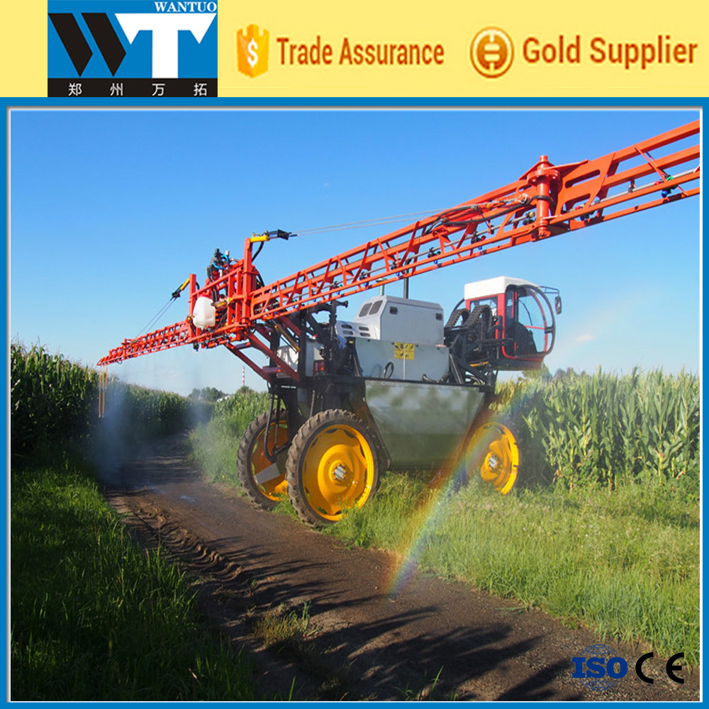 high pressure and high clearance tractor boom sprayer for corn