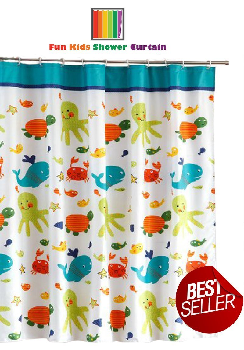 Cheap Kids Fish Shower Curtain, find Kids Fish Shower Curtain ...