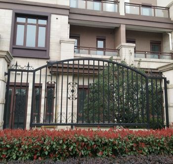 china cheap wrought iron fence panels for sale steel grill fence designfence