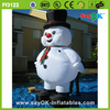 2017 Popular funny christmas decoration inflatable snowman costume manufacturer