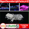 CE ROHS approveded 8 function led christmas window light decoration warm white led fairy lights christmas led lights 5m
