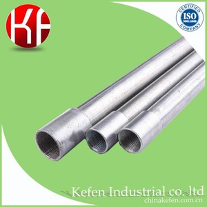 HDG 20mm/25mm/32mm class 3 insulated gi electrical conduit parts