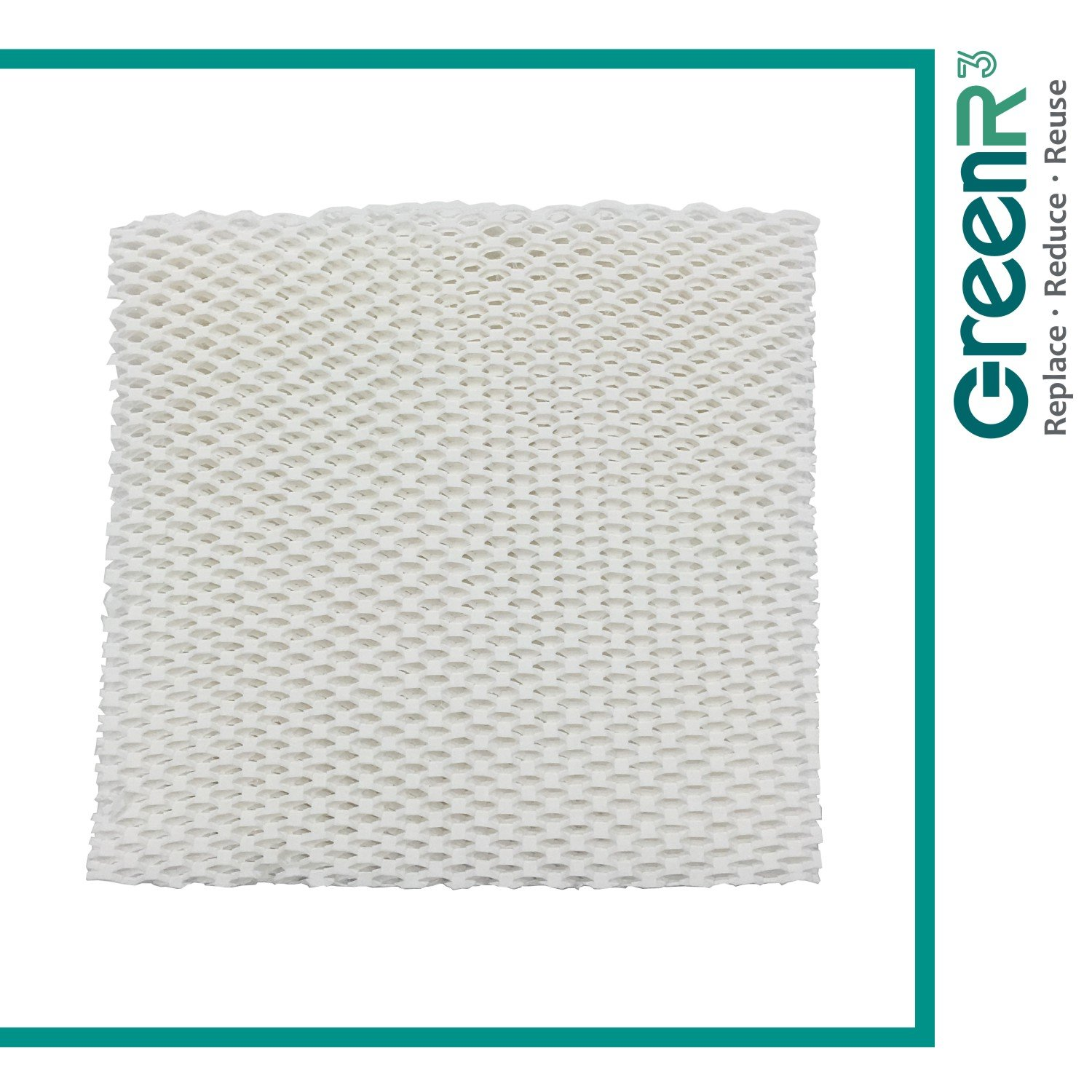 GreenR3 1-PACK Wick Filters Humidifiers for Honeywell HAC-801 fits Honeywell HCM-3060 HCM-88C HAC-801 Arctic Stream DA-1005 Kenmore 14108 Kenmore Duracraft DU3-C AC-801 DH-799 HCM-3060C Part and more