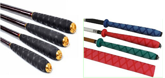 Stock in us black green red yellow color for Fishing rod handle wrap