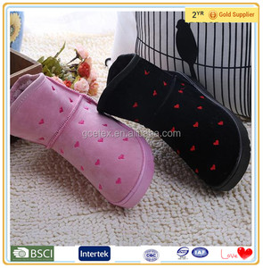 Women lovely warm ankle cheap fancy girls in rubber boots
