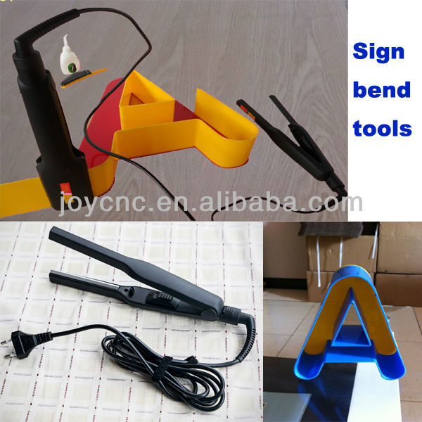 sign bend tools mini acrylic bender