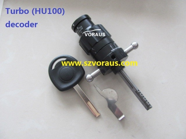 Turbo decoder HU100 (unlock car door)