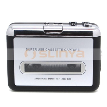 Tape to Super PC USB Cassette Converter Capture Audio Music Player