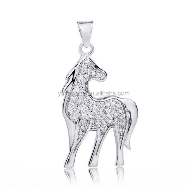 China sterling silver horse pendant wholesale alibaba 925 sterling silver horse pendant micro pave cz horse pendantsilver pendant jewelry aloadofball Gallery