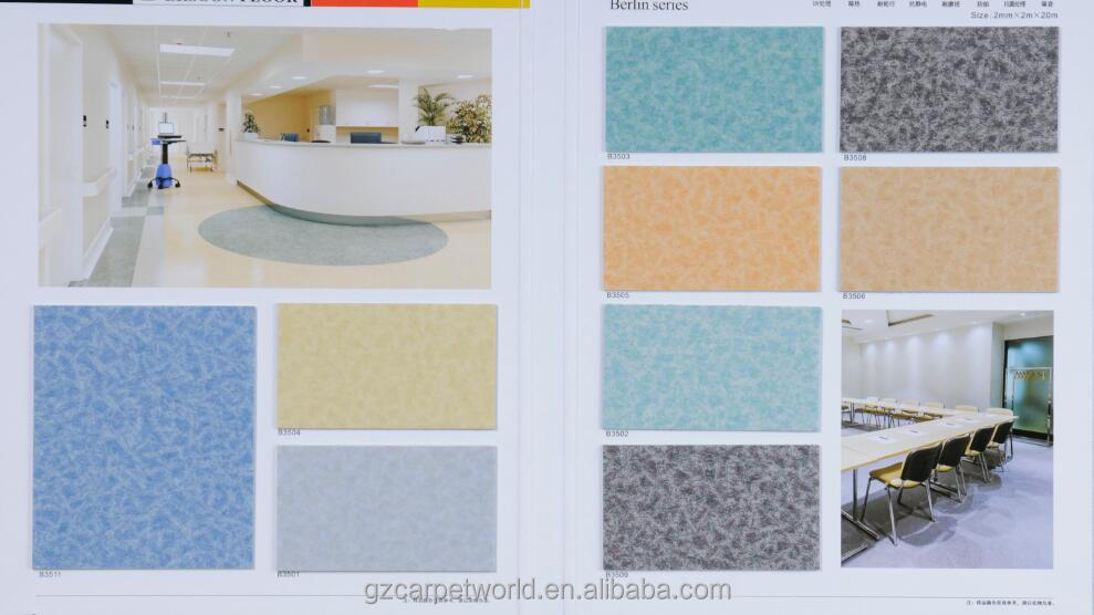 High Quality Antibiotic PVC Floor, PVC Flooring Covering, PVC Floor Carpet
