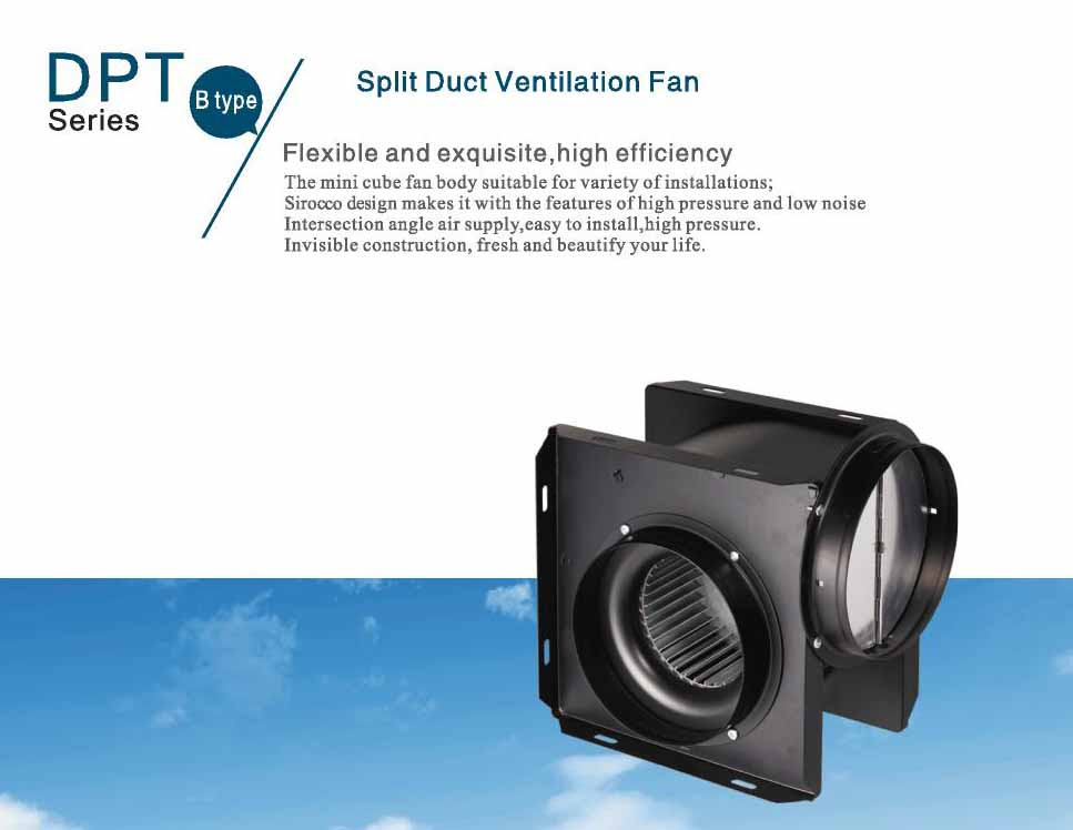 Super High Pressure Small Blowers : Super silent duct ventilation fan air blower high quality