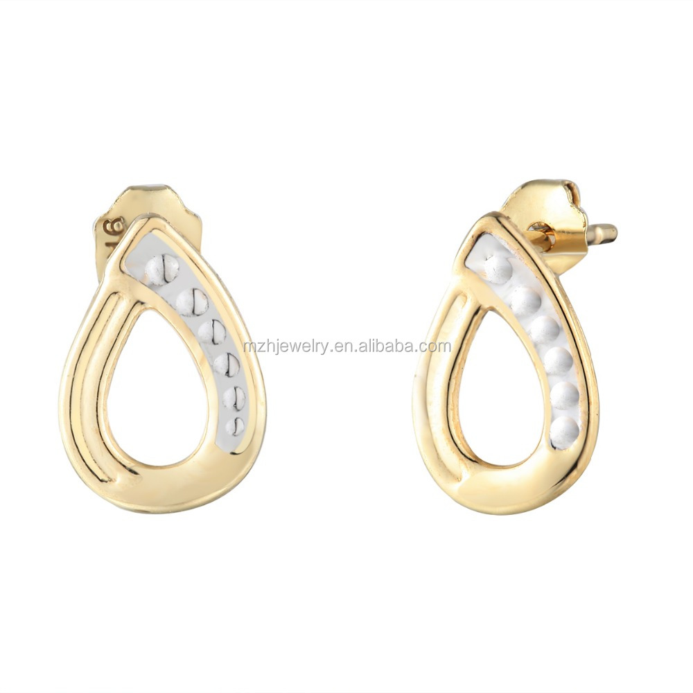 China Small Gold Earrings, China Small Gold Earrings Manufacturers And  Suppliers On Alibaba