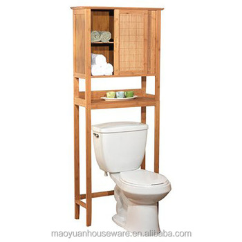 Bamboo Over The Toilet Storage Rack Over Toilet Shelf Buy Bamboo Over The Toilet Cabinet Over The Sink Shelf Over The Toilet Storage Rack Product On