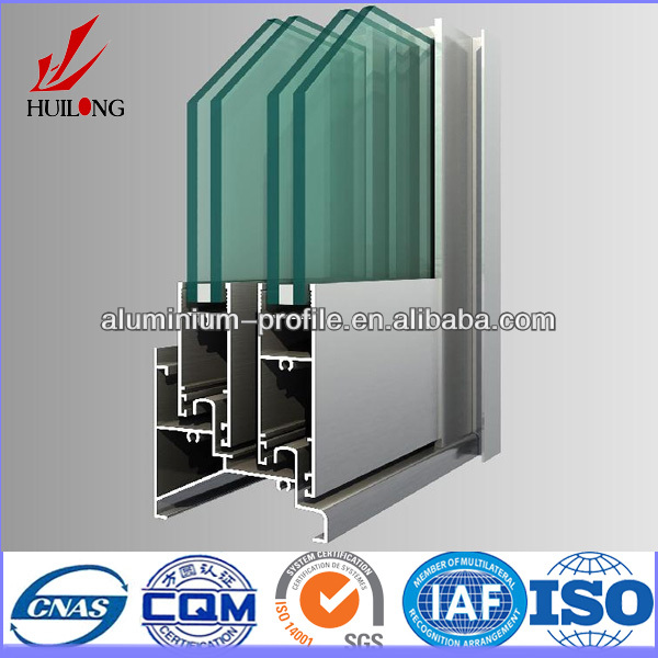 high quality 6063 t5 aluminium alloy extrusion for building and industry zhengzhou
