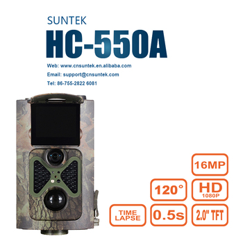 Mini Surveillance Hunting Trail Camera with 16MP Image Resolution1080P Vedio 48pcs Invisible LEDs Night Vision