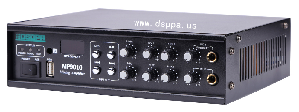 Mp9010 100w Pa System Mp3 Fm Signal Digital Pa Class D Amplifier ...