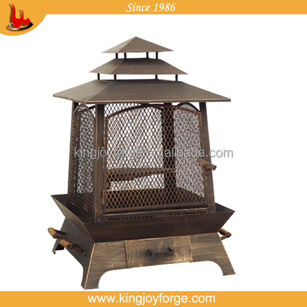 NEW Wood Burner Cast Iron Outdoor Fireplace