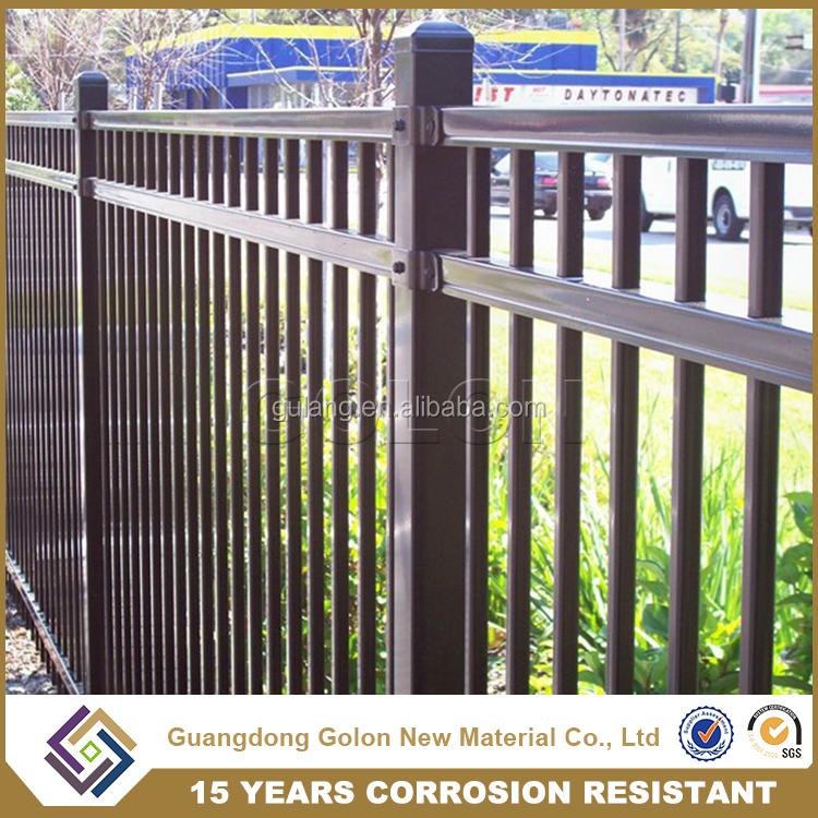 Profesionales valla de hierro forjado adornos para el for Vallas de hierro para jardin
