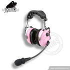 Colorful Pilot Aviation Headphone Professional for Children