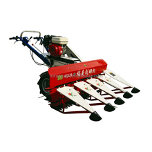 china high quality gasoline wheat cutter mini harvester