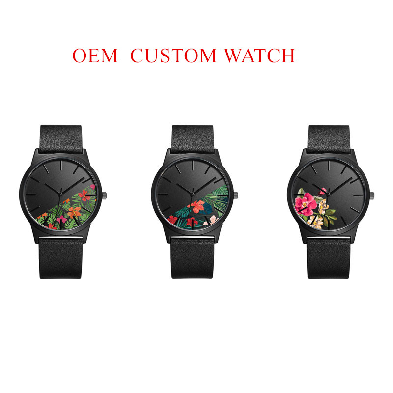 Custom Watches Build Your Own Brand Watch made in prc Women Customize Watch Manufacturer