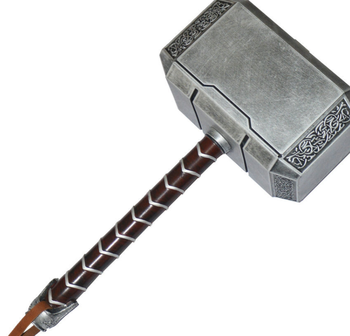 Halloween LARGEARS PU Foam Thor's Hammer Toys China Prop Hammer Of thor For Combat Weapon