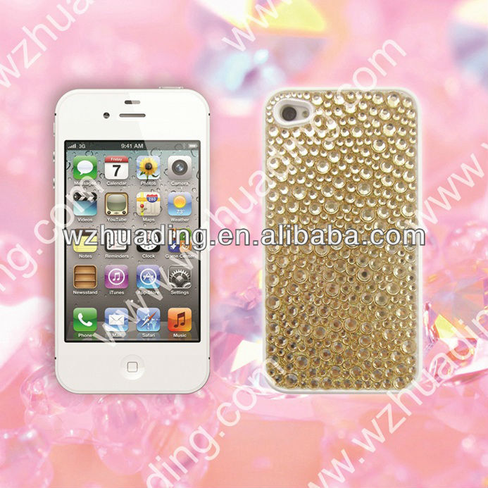 Bling rhinestone diamond crystal case for samsung galaxy s4