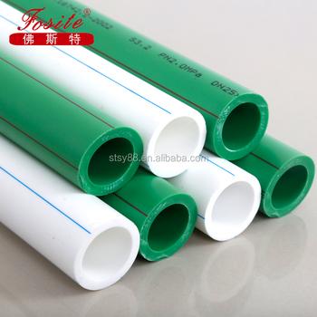 Relativ Hochwertiges Ppr-rohr Aus Kunststoff Für Heißes Und Kaltes Wasser WQ64
