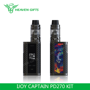 Heavengifts Newly-introduced 4ml Captain S Tank 234W IJOY Captain PD270 Kit  electronic cigarette price in saudi arabia