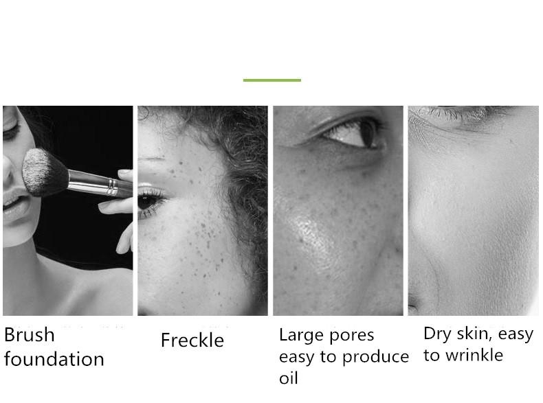 Mini corée Portable usage domestique hydr o peel hydr a machine de beauté de bulle d'équipement de spa de microdermabrasion faciale