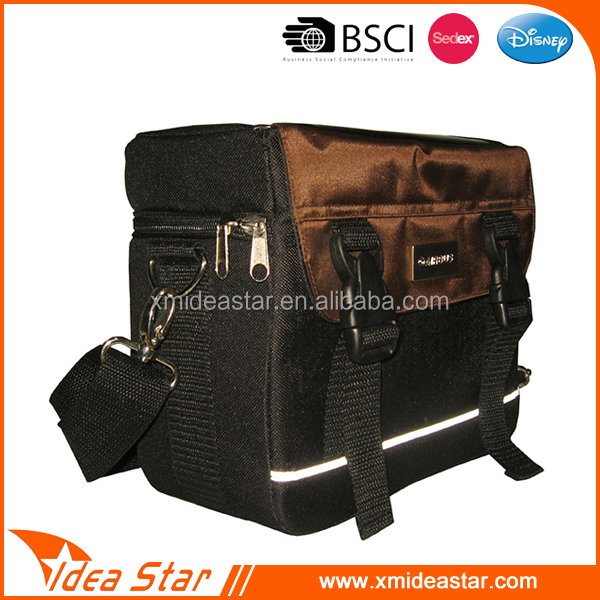 Latest durable big capacity waterproof folding bike saddle bag