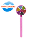 Originality plastic windmill wand water toy bubble pipes for kids