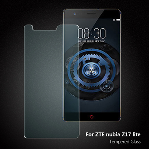 9H 0 3mm 2 5D tempered glass screen protector for ZTE nubia Z17 lite