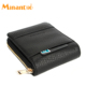 MINANDIO factory high quality leather personalized coin purse credit card money clip wallets buyers