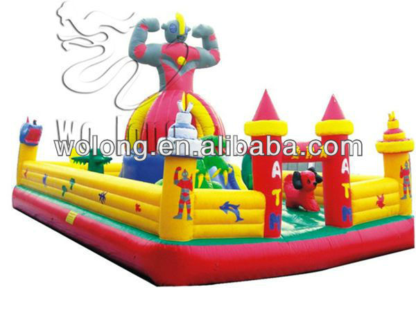 small inflatable bouncer, inflatable jumping