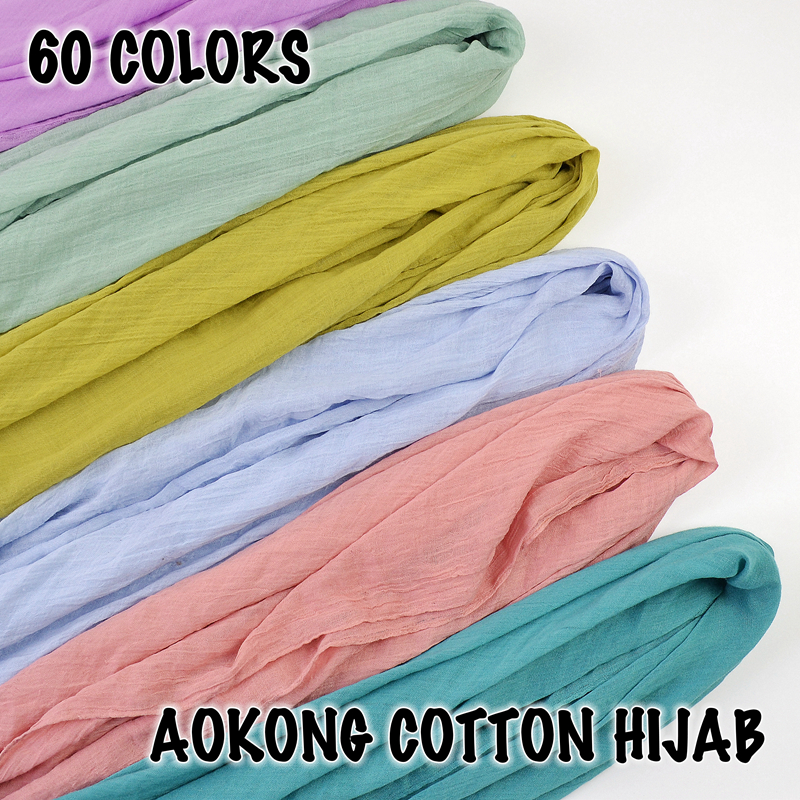 New women maxi hijabs shawls oversize islamic head wraps soft long muslim frayed cotton blend pleated plain hijab scarfs