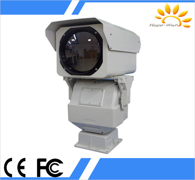 18km surveillance uncooled sensor infrared thermal security camera for border surveillance