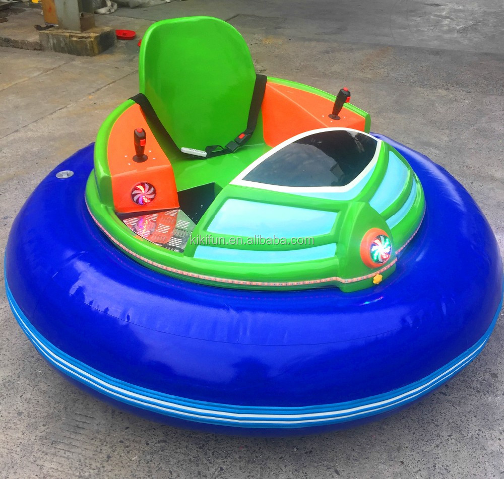 2017 best selling kiddie and adults ride inflatable motorized UFO shape bumper cars on hot promotion
