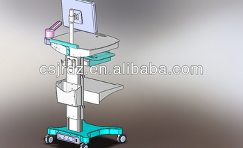 supply the Adjustable workstation trolley for hospital