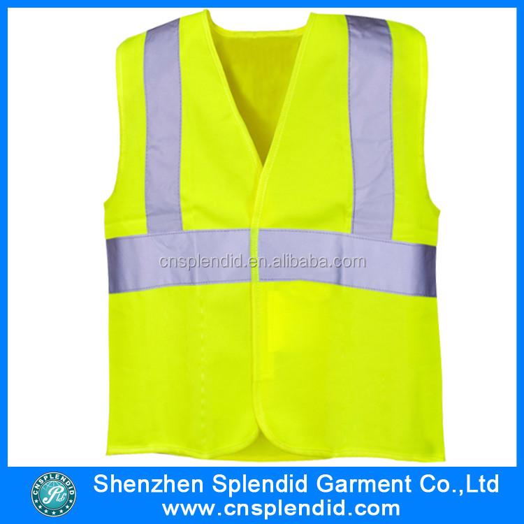 Hi vis de sécurité à manches longues velcro gilet workwear réfléchissant de protection sécurité