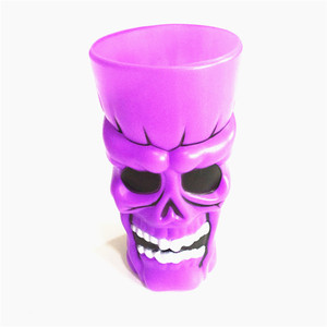 Plastic wine glass creative ghost festival funny cup Halloween pumpkin skeleton cups for bar